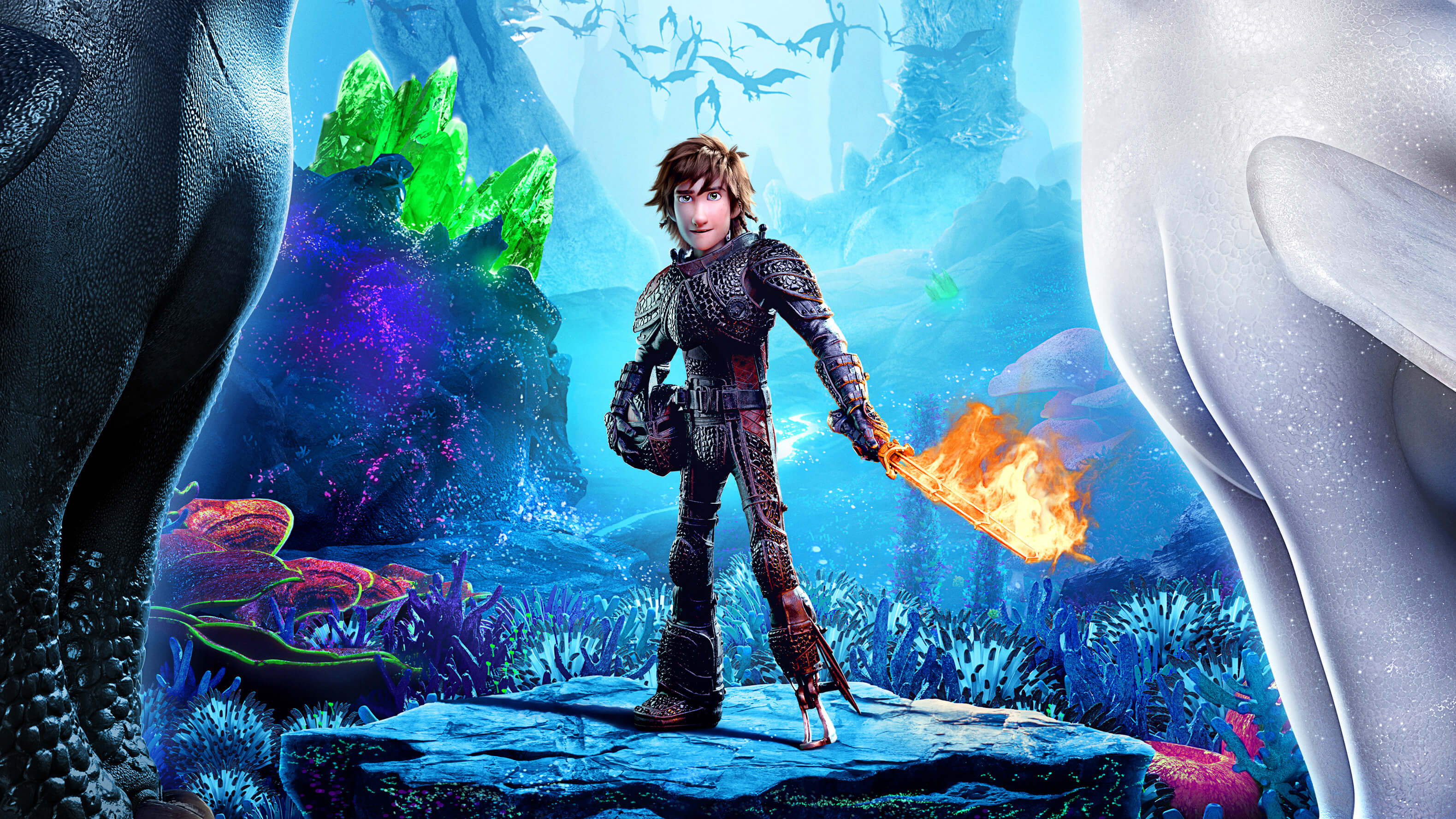 How To Train Your Dragon 3 Widescreen Wallpaper 66677 3158x1777px