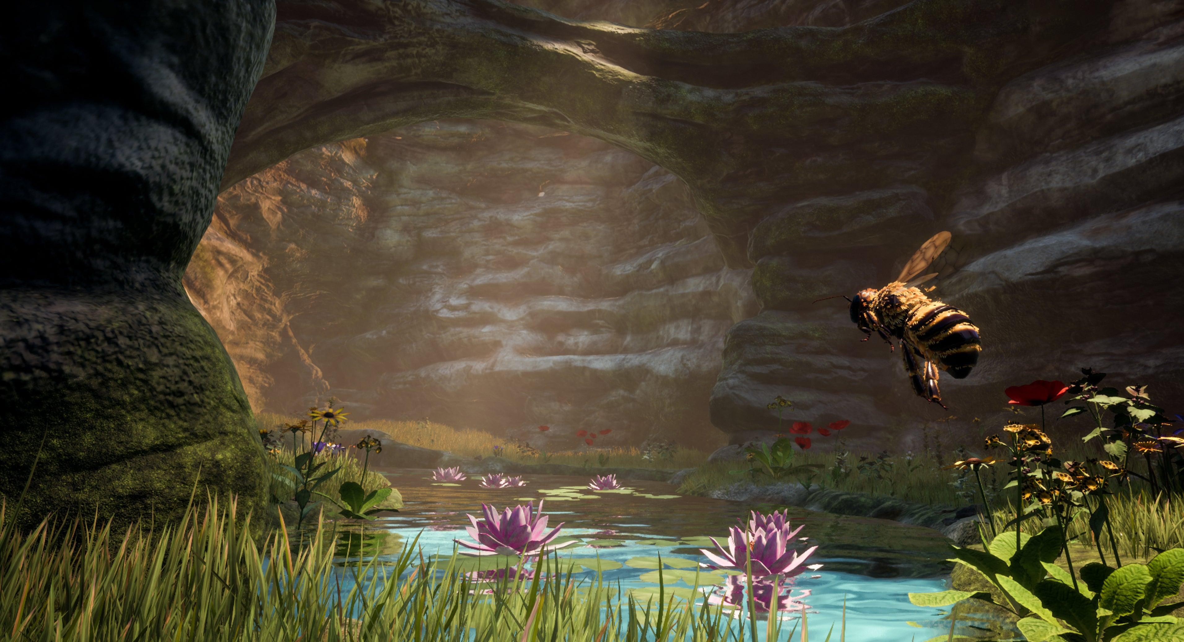 bee simulator widescreen wallpaper 69482