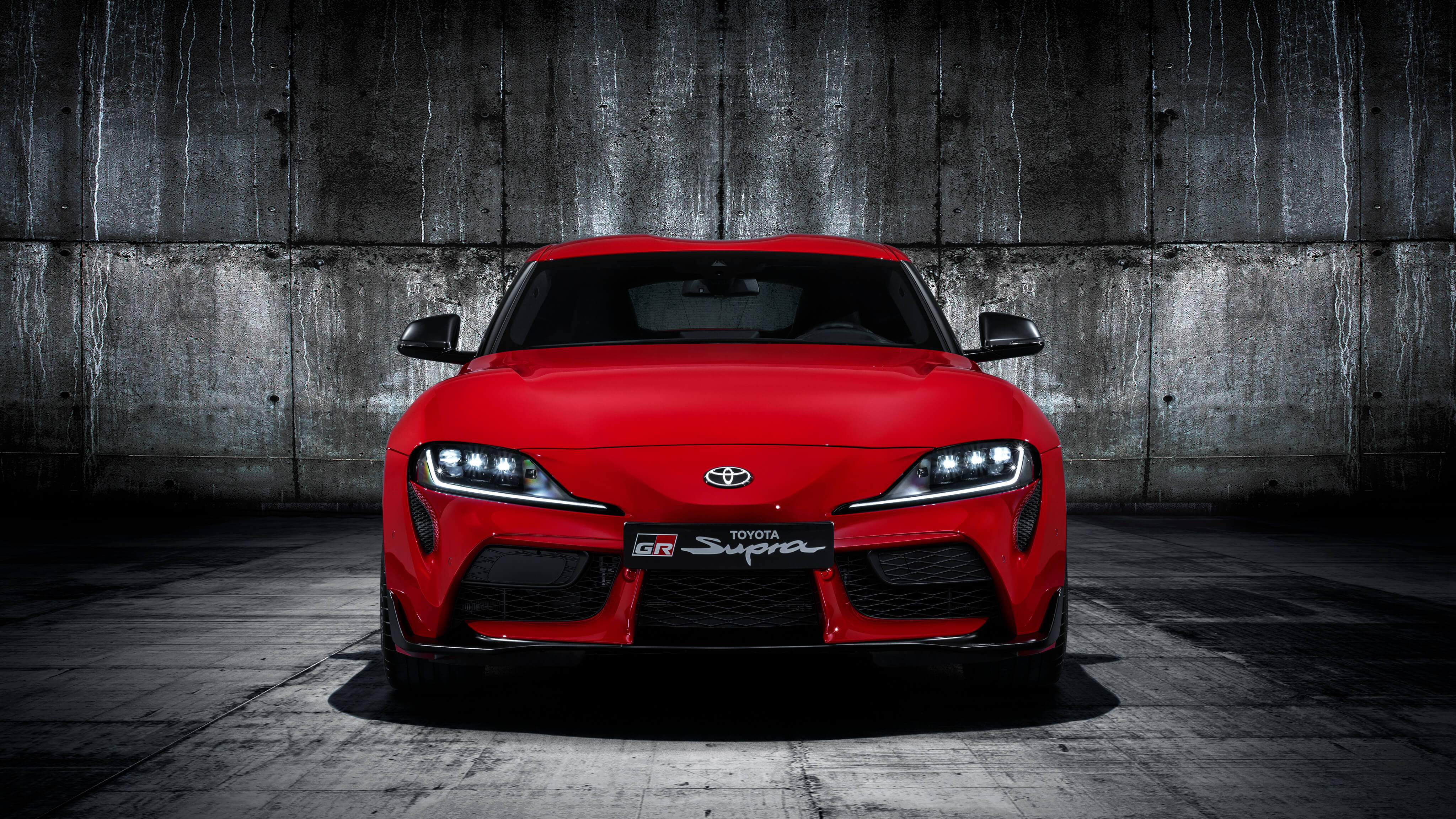 red toyota gr supra wallpaper 66765