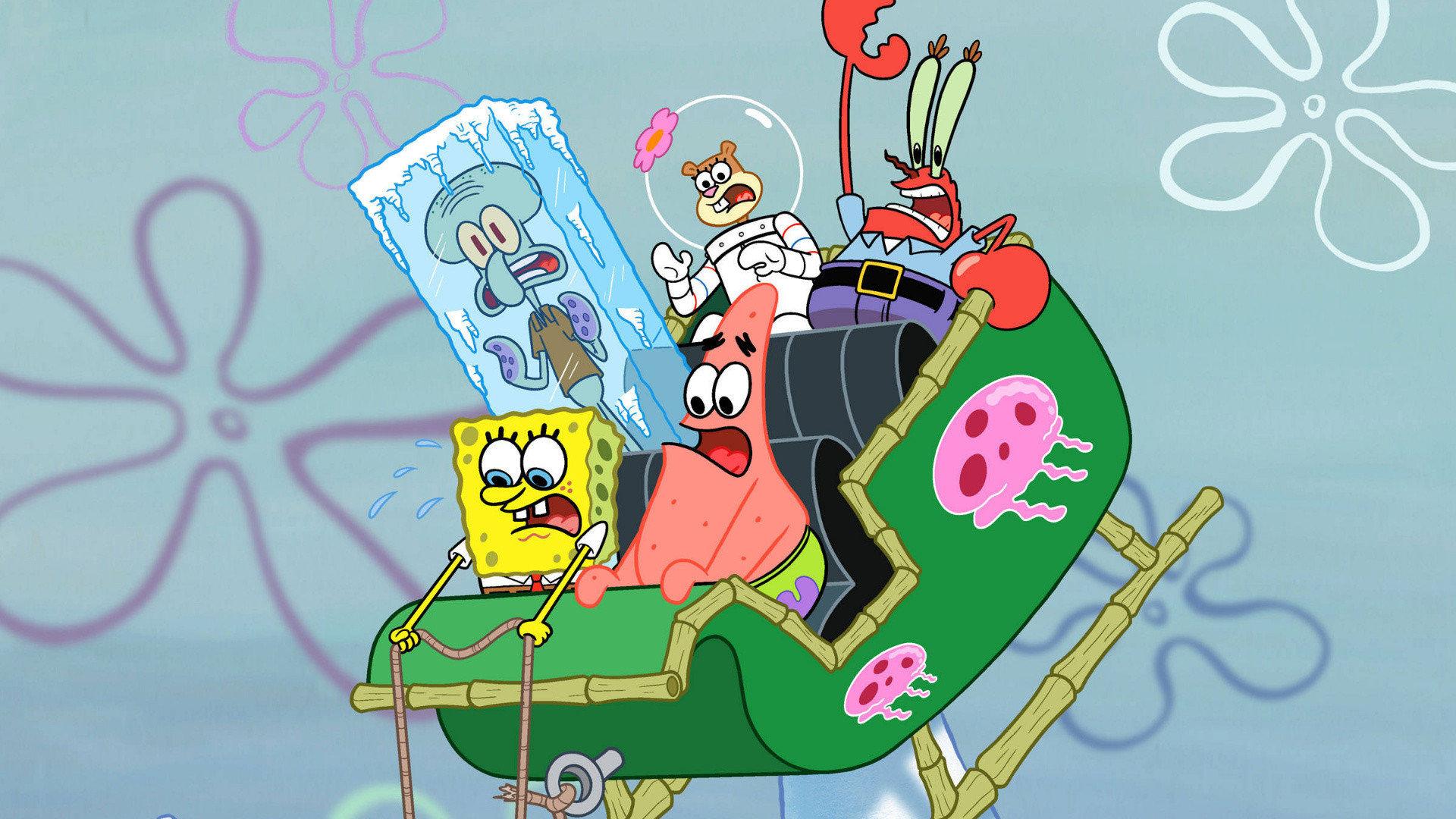 spongebob squarepants hd wallpaper 68436