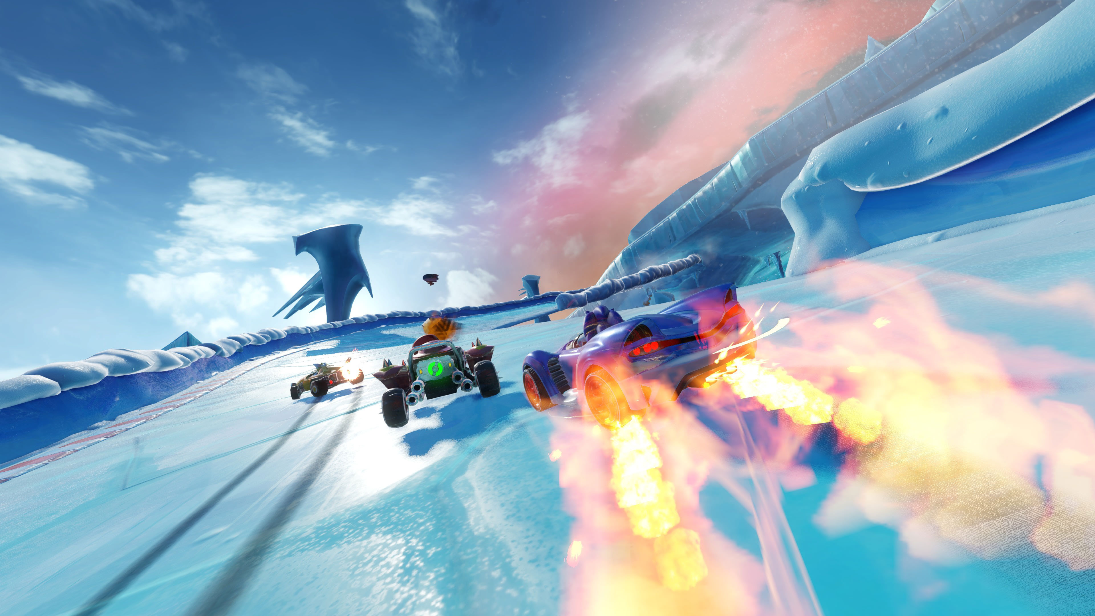 team sonic racing background wallpaper 67433
