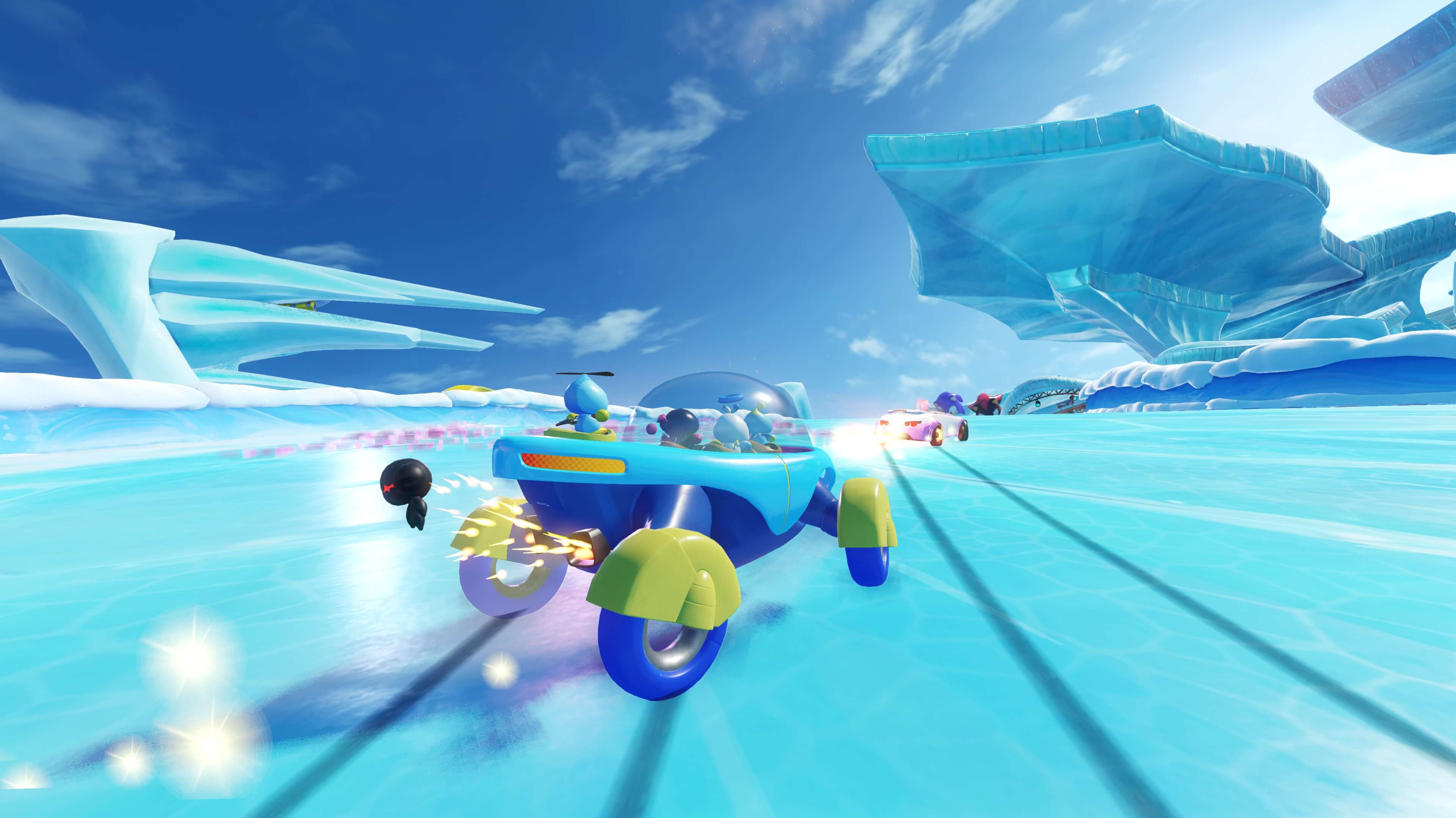 team sonic racing wide wallpaper 67444