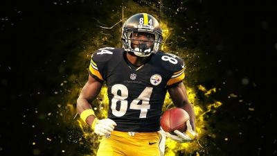 Antonio Brown Wide Wallpaper 68563