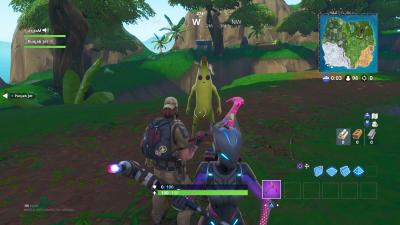 Fortnite Banana Suit Wallpaper 67403