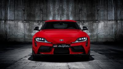Red Toyota GR Supra Wallpaper 66765