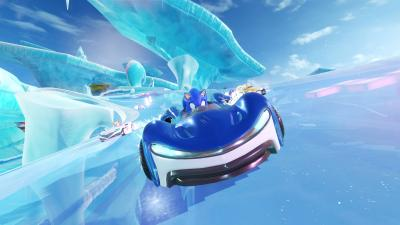 Team Sonic Racing Video Game Wide Wallpaper 67435