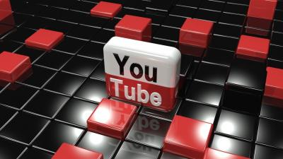 3D YouTube Wallpaper 66869
