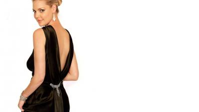 Katherine Heigl Black Dress Wallpaper 66815