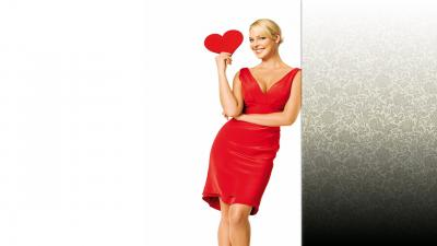 Katherine Heigl Red Dress Wallpaper 66816