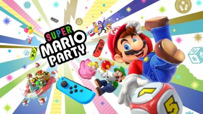 Super Mario Party Game Desktop Wallpaper 66863