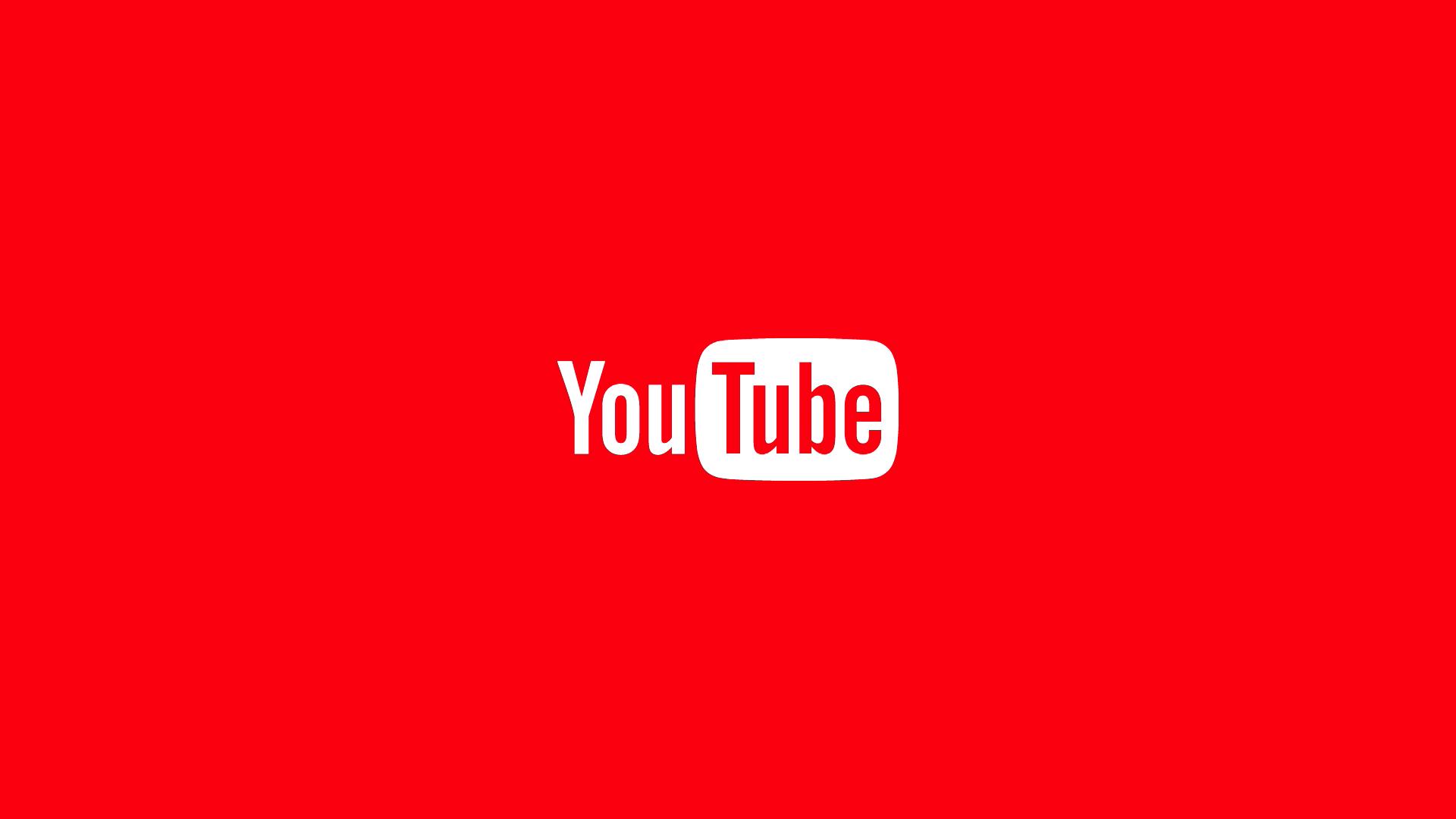 YouTube Logo HD Wallpaper 66870 1920x1080px