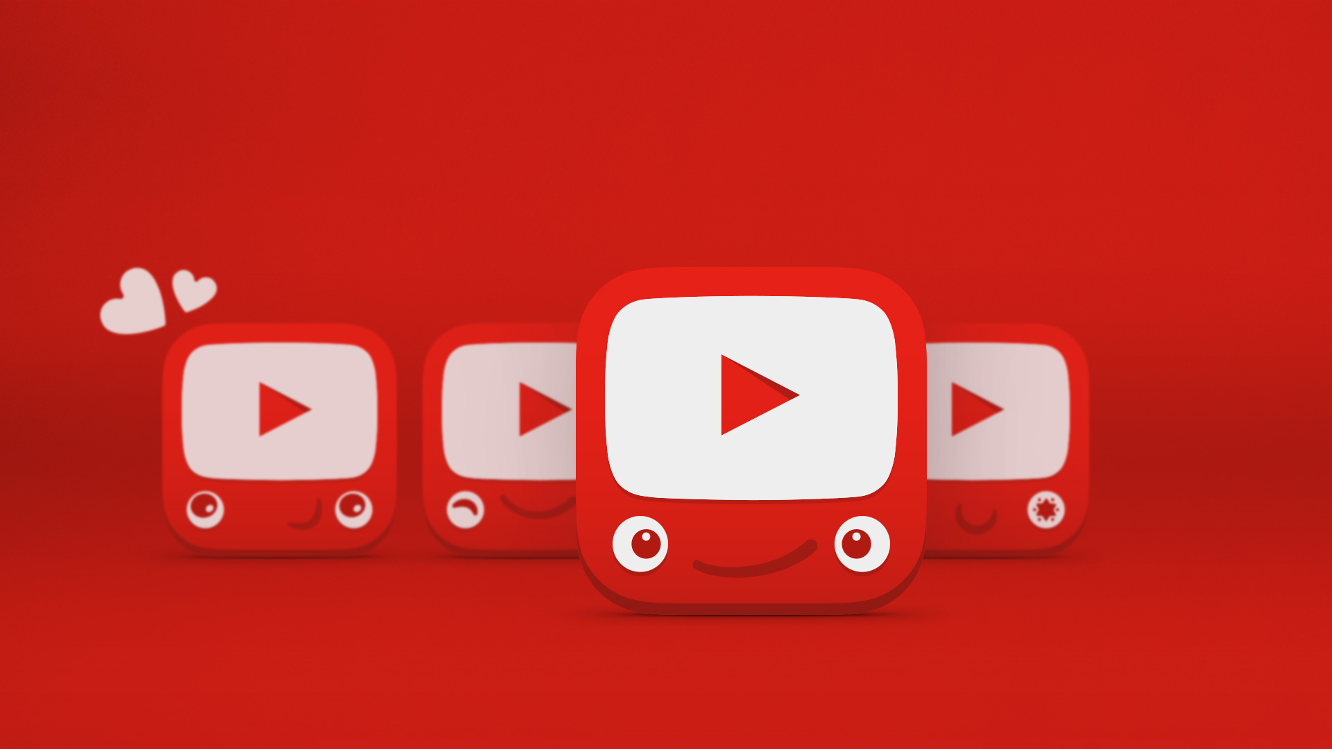 youtube play icon wallpaper 66873