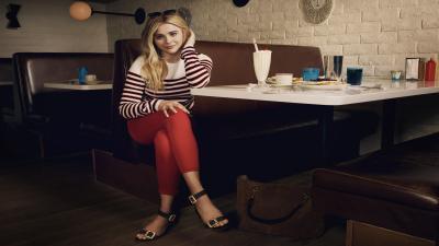 Chloe Grace Moretz Actress Background Wallpaper 66664