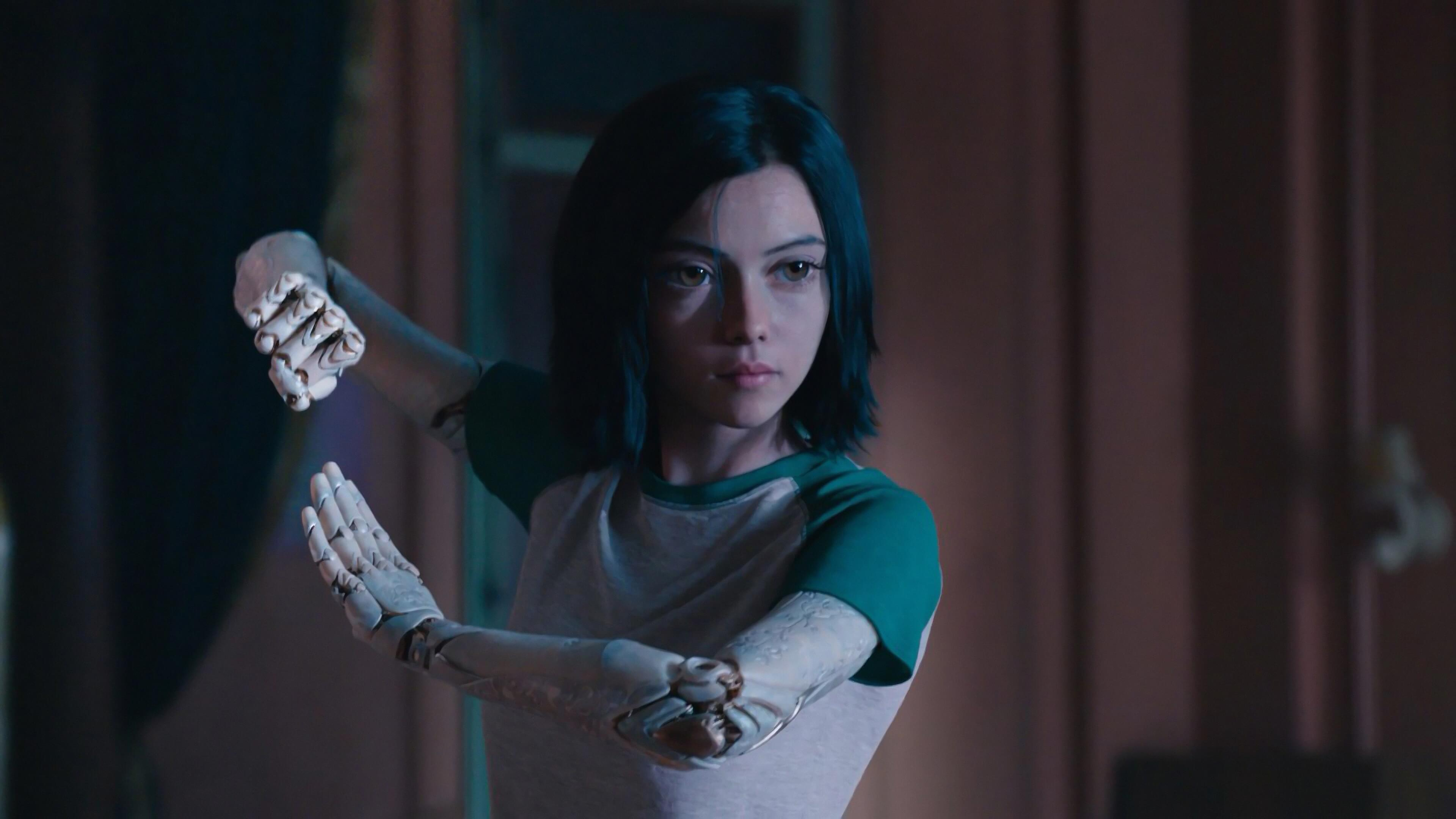Alita Battle Angel Widescreen Wallpaper 67044 3840x2160px