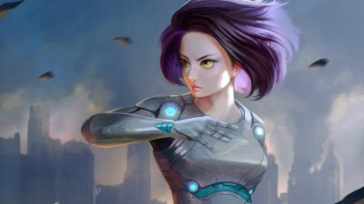 Alita Battle Angel Art Wallpaper 67046