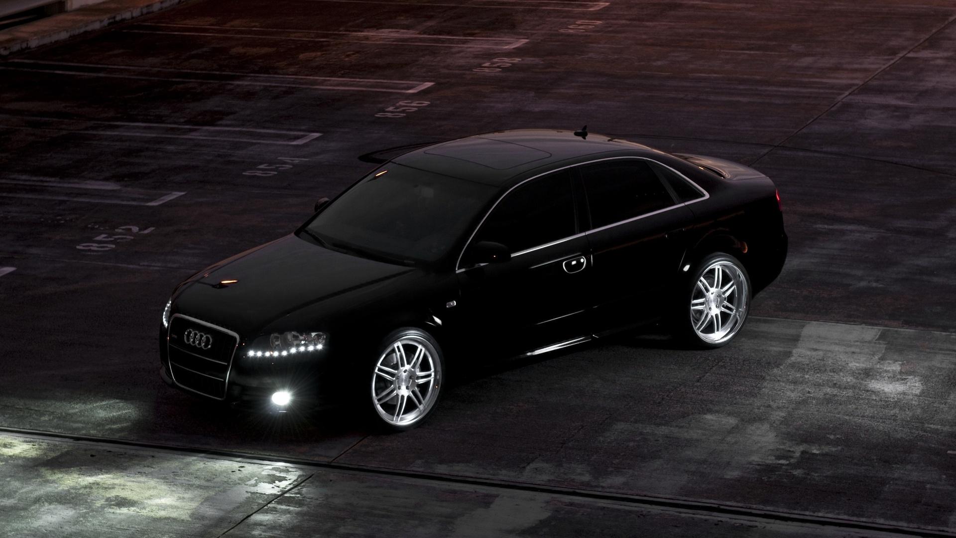 black audi car wallpaper 66771