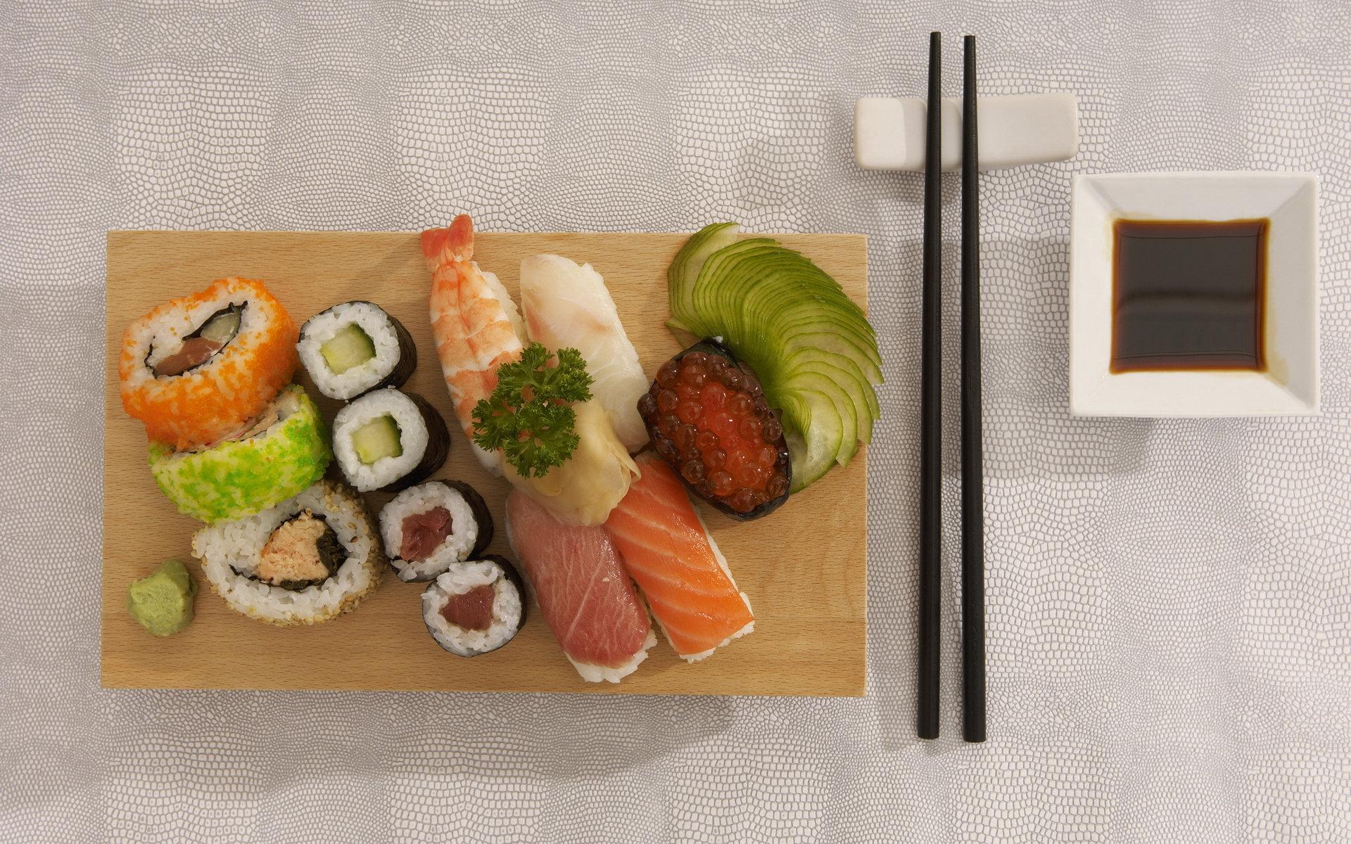 sushi plate wallpaper 66895