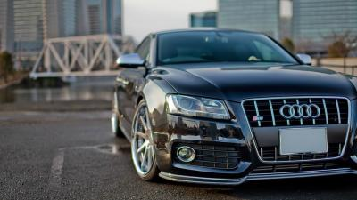 Black Audi Car Wallpaper 66772