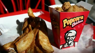 KFC Popcorn Chicken Wallpaper 66801
