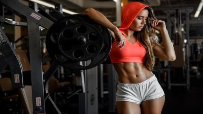 Sexy Fitness Woman HD Wallpaper 68558