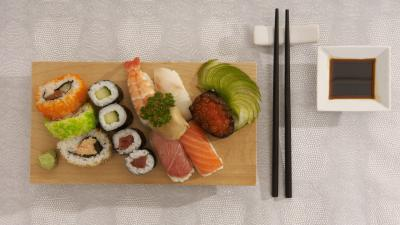 Sushi Plate Wallpaper 66895