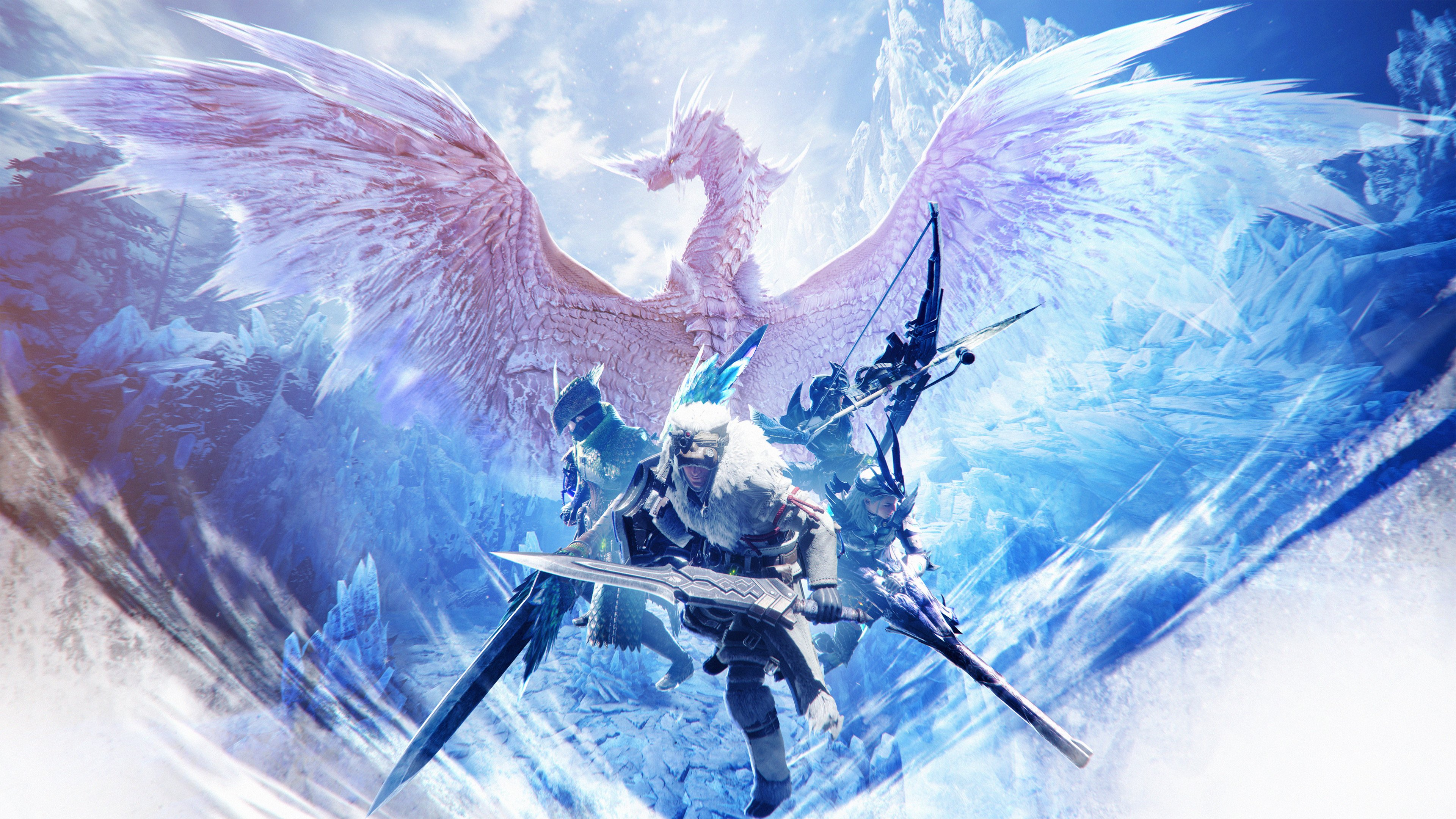 4k monster hunter world iceborne wallpaper 69805