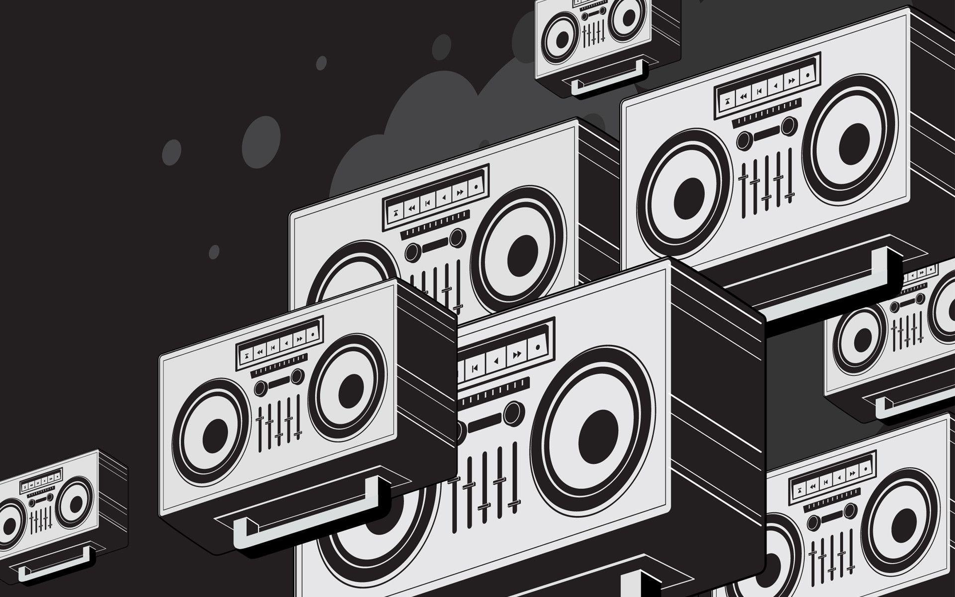 abstract boombox wallpaper 68657