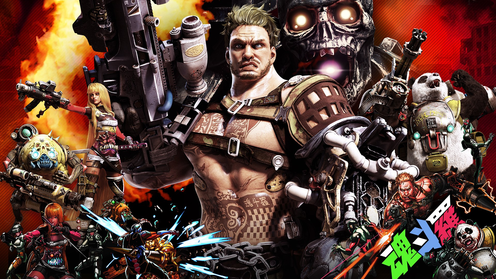 contra rogue corps video game wallpaper 69757