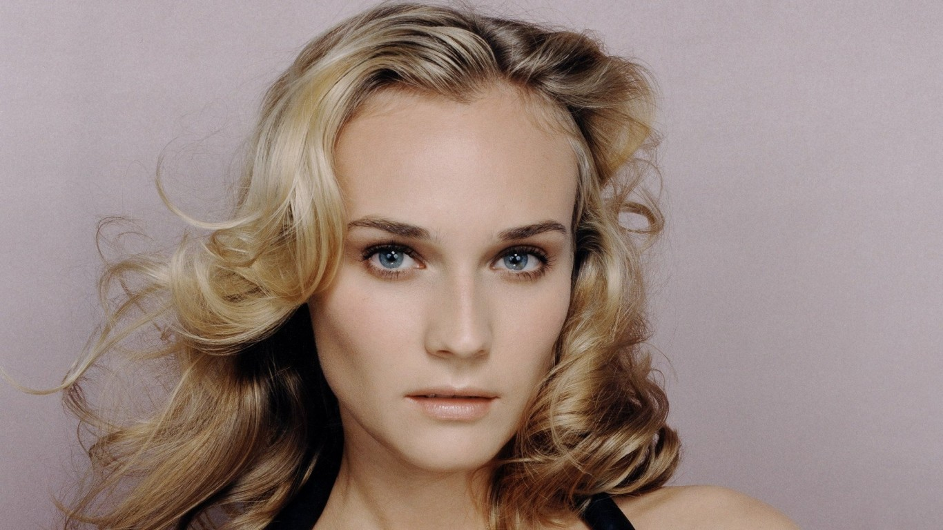 diane kruger face photos wallpaper 66851