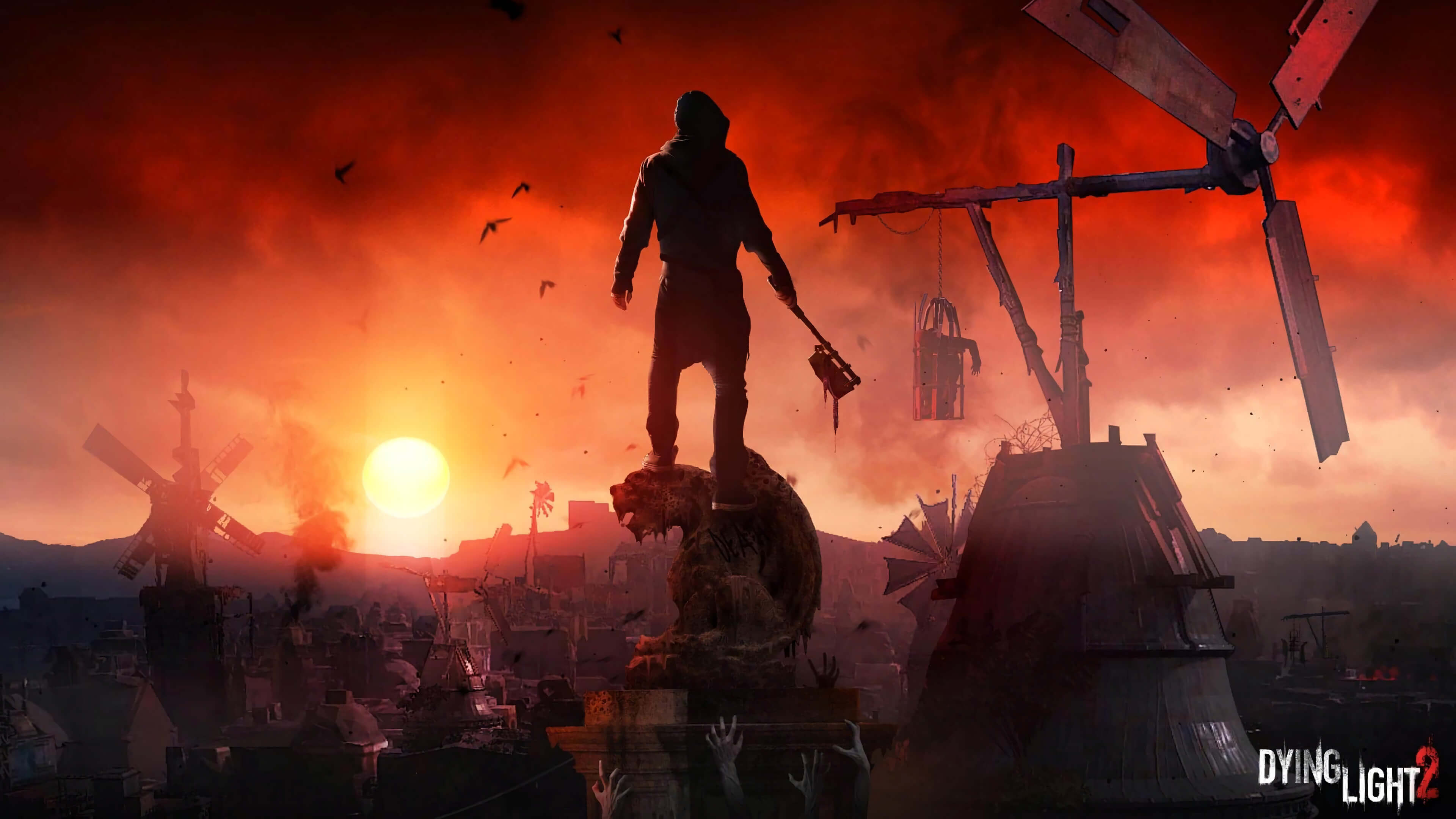Dying Light 2 Background Hd Wallpaper 69787 3840x2160px
