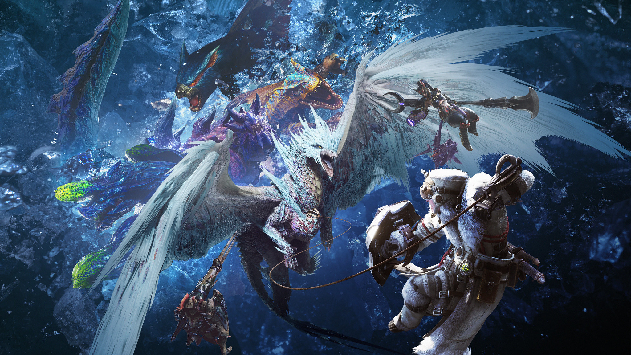Monster Hunter World Iceborne Wallpaper 69800 2048x1152px