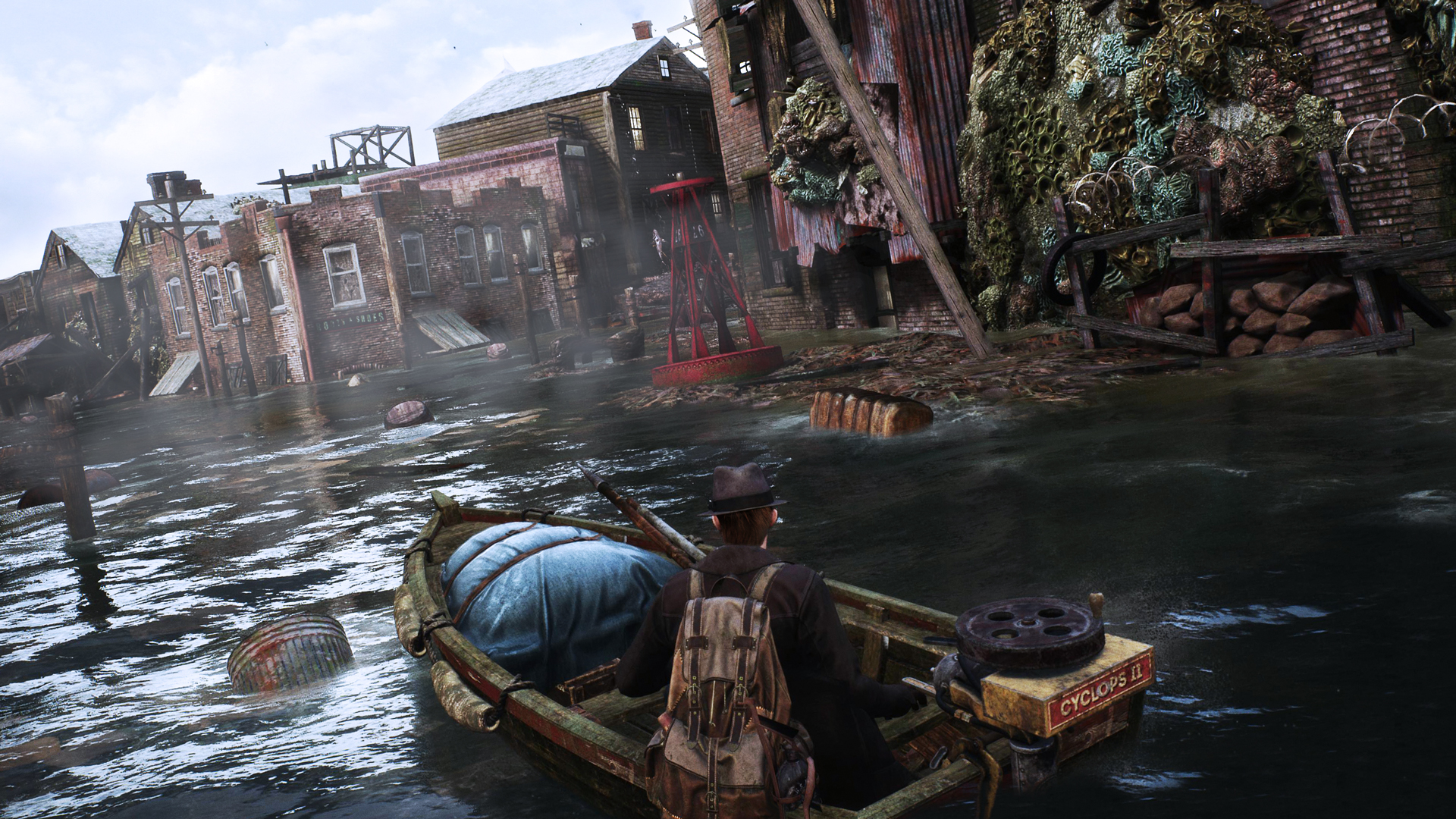 the sinking city wallpaper 67470