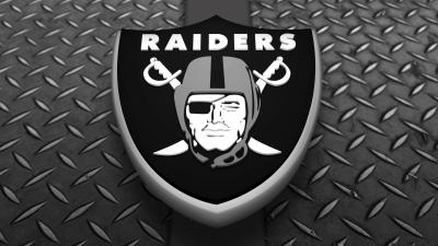 3D Oakland Raiders Logo Background Wallpaper 68610
