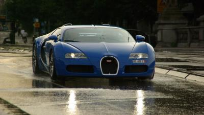 Blue Bugatti Photos Wallpaper 67191