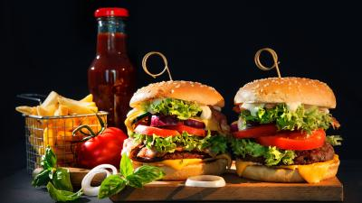 Fast Food Burgers Wallpaper 68908