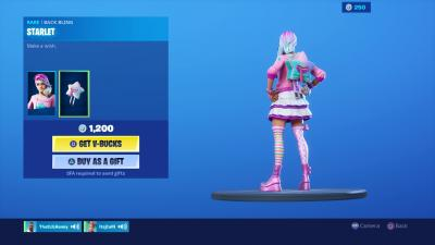 Fortnite Starlet Wallpaper 69108
