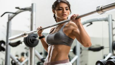 Hot Fitness Woman HD Wallpaper 67567