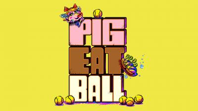 Pig Eat Ball Logo Wallpaper 69164
