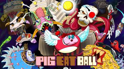 Pig Eat Ball Video Game Wallpaper 69162