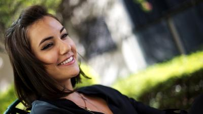 Sasha Grey Smile Wallpaper 68347
