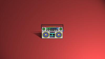 Small BoomBox Wallpaper 68656
