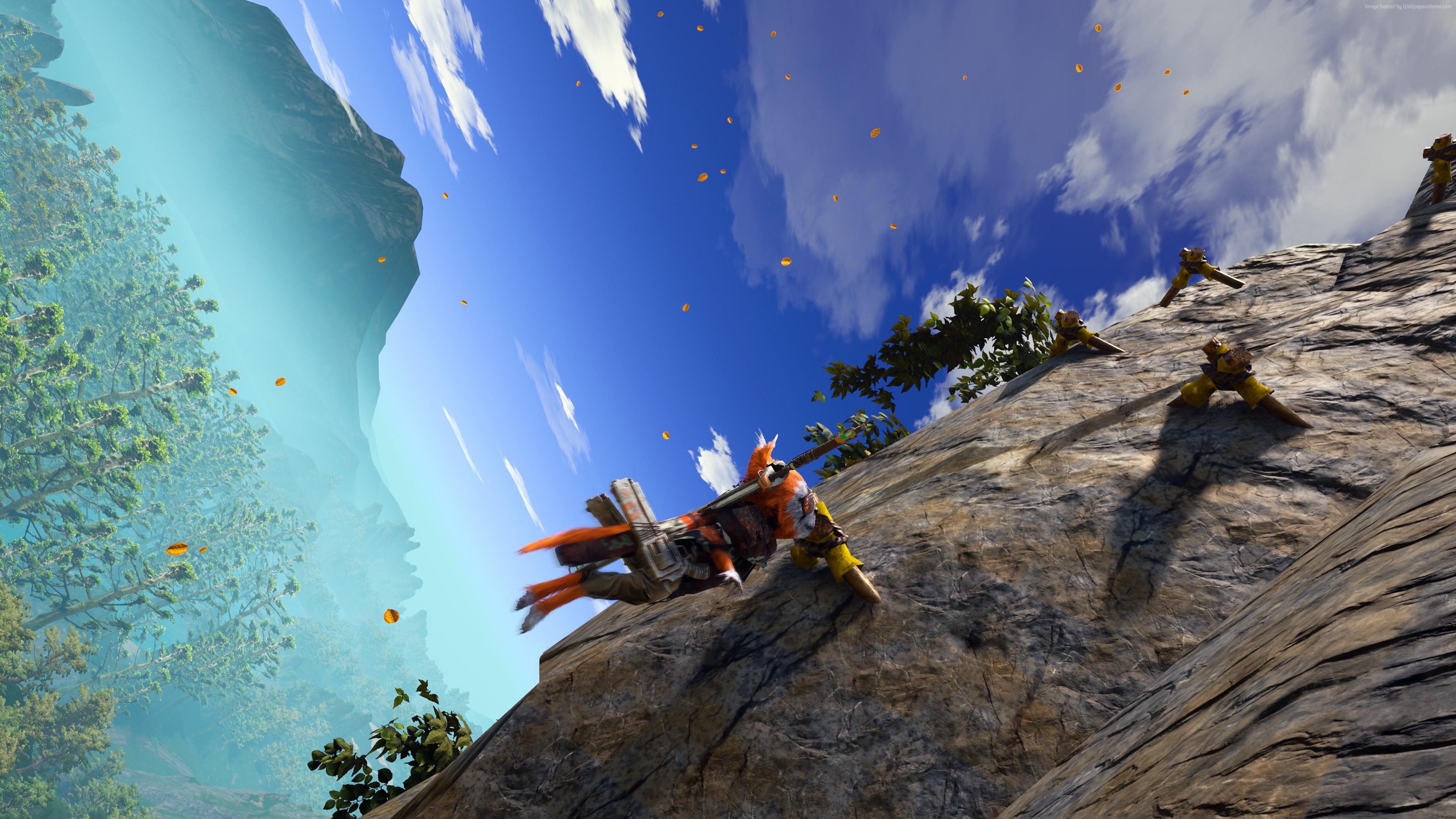 biomutant video game wallpaper 68928
