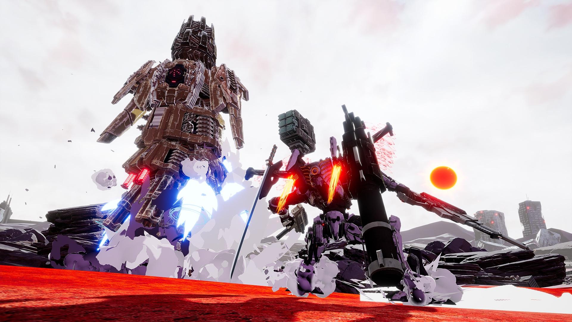 daemon x machina gameplay wallpaper 69442