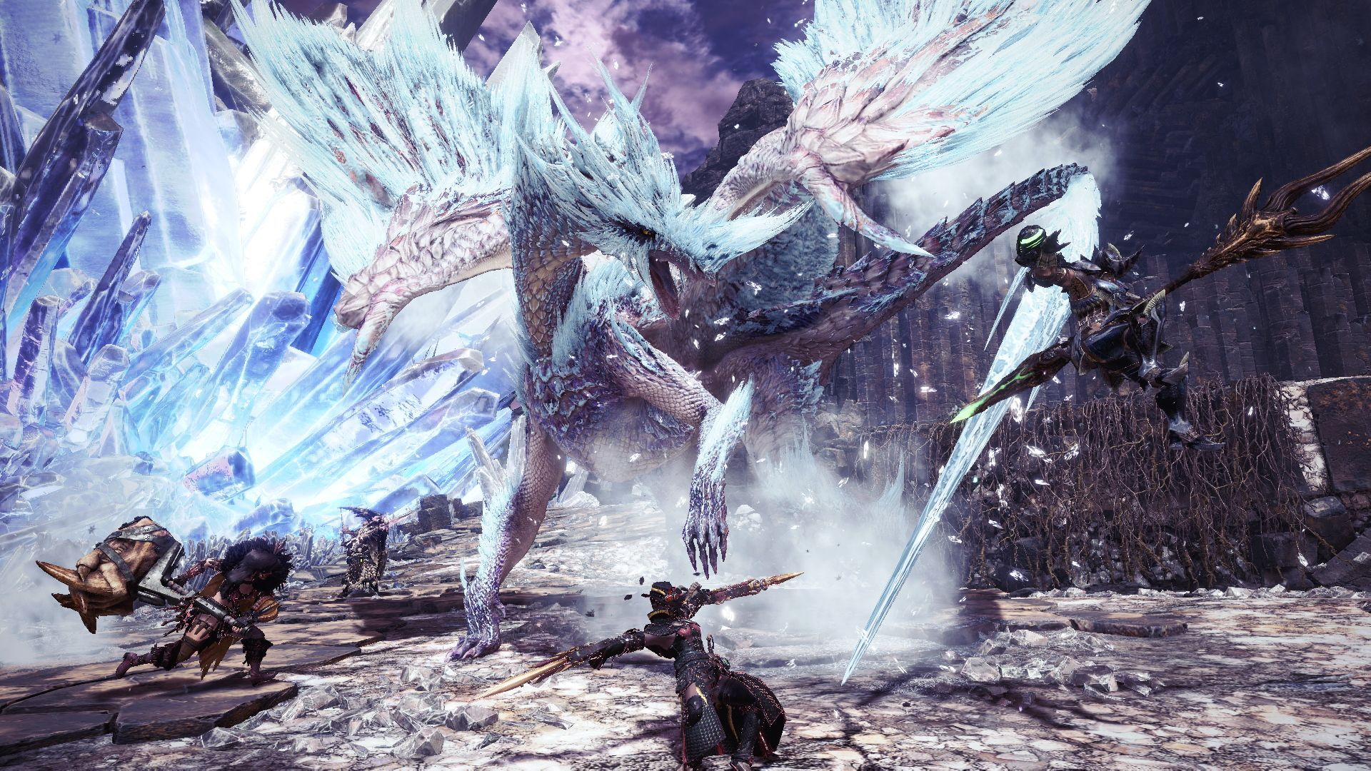 Hd Monster Hunter World Iceborne Wallpaper 68461 1920x1080px
