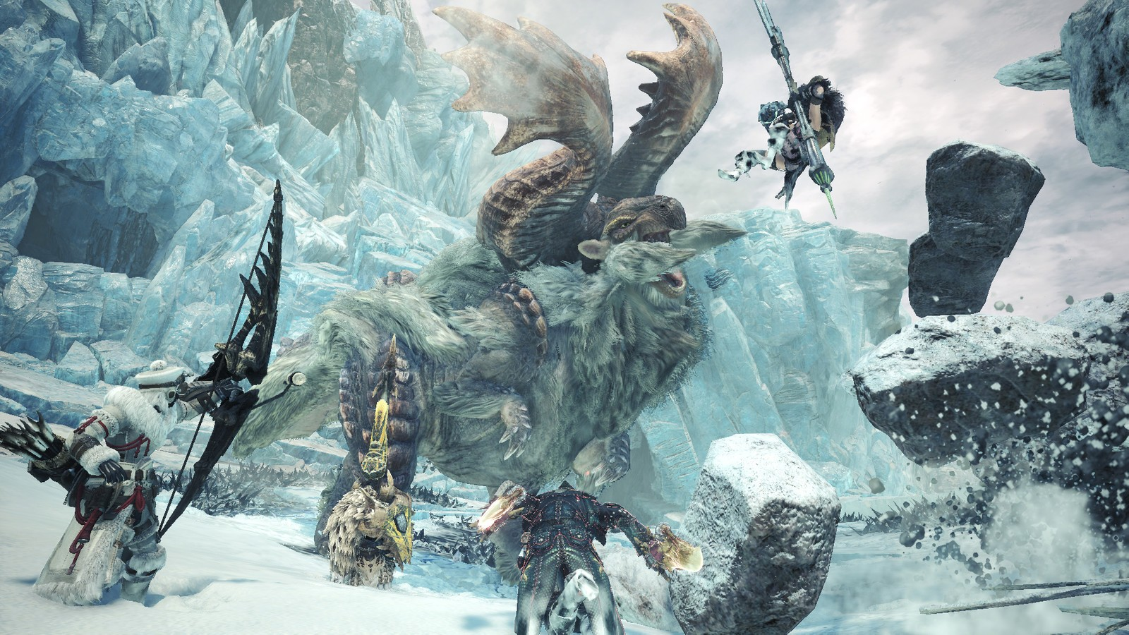 monster hunter world iceborne computer wallpaper 68458