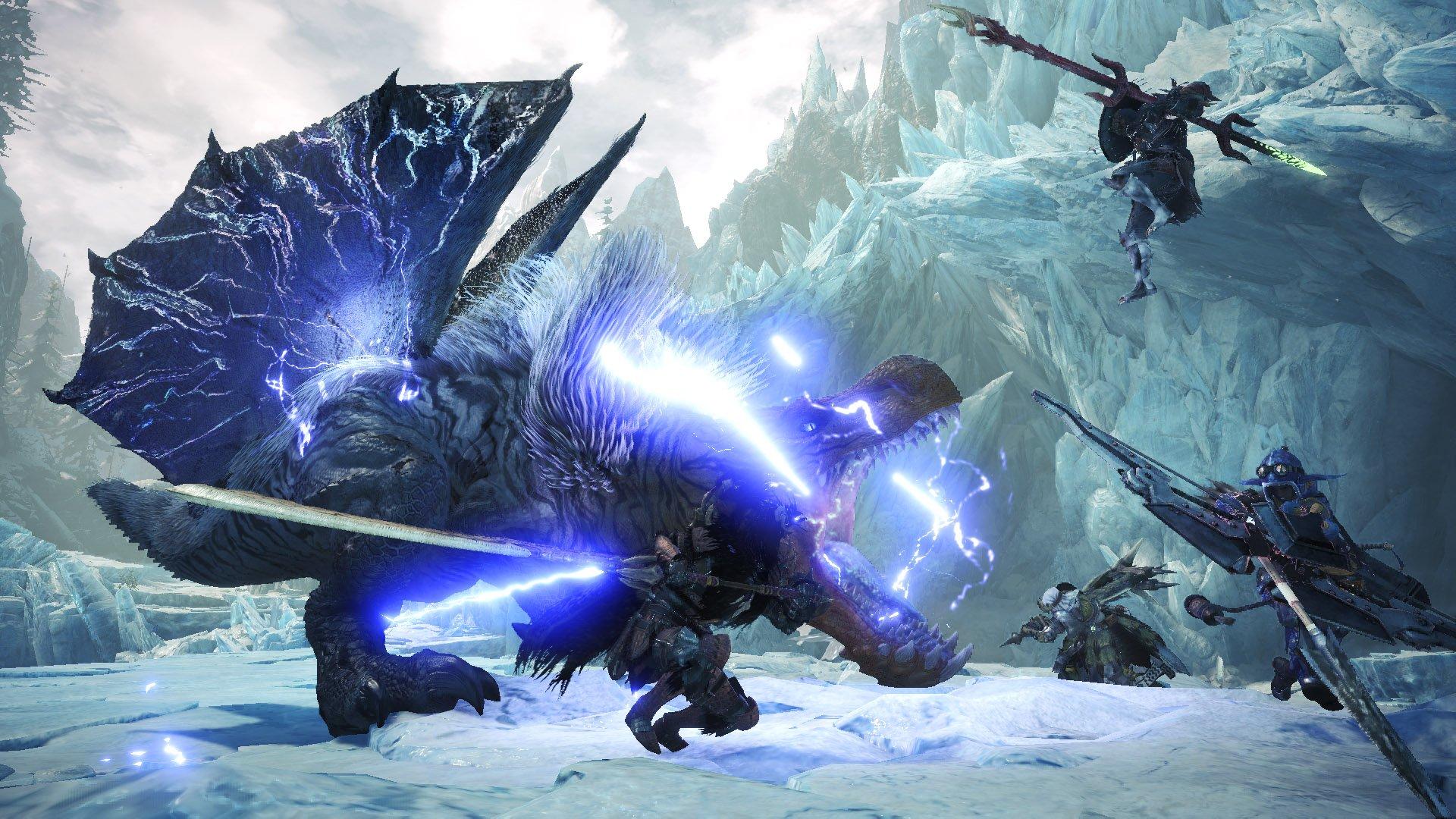 monster hunter world iceborne video game desktop wallpaper 68456