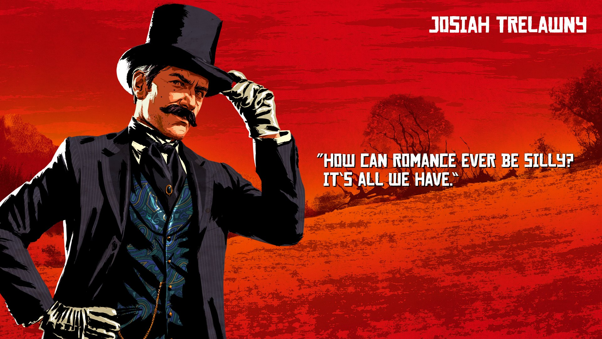 Red Dead Redemption 2 Josiah Wallpaper 68175 1920x1080px