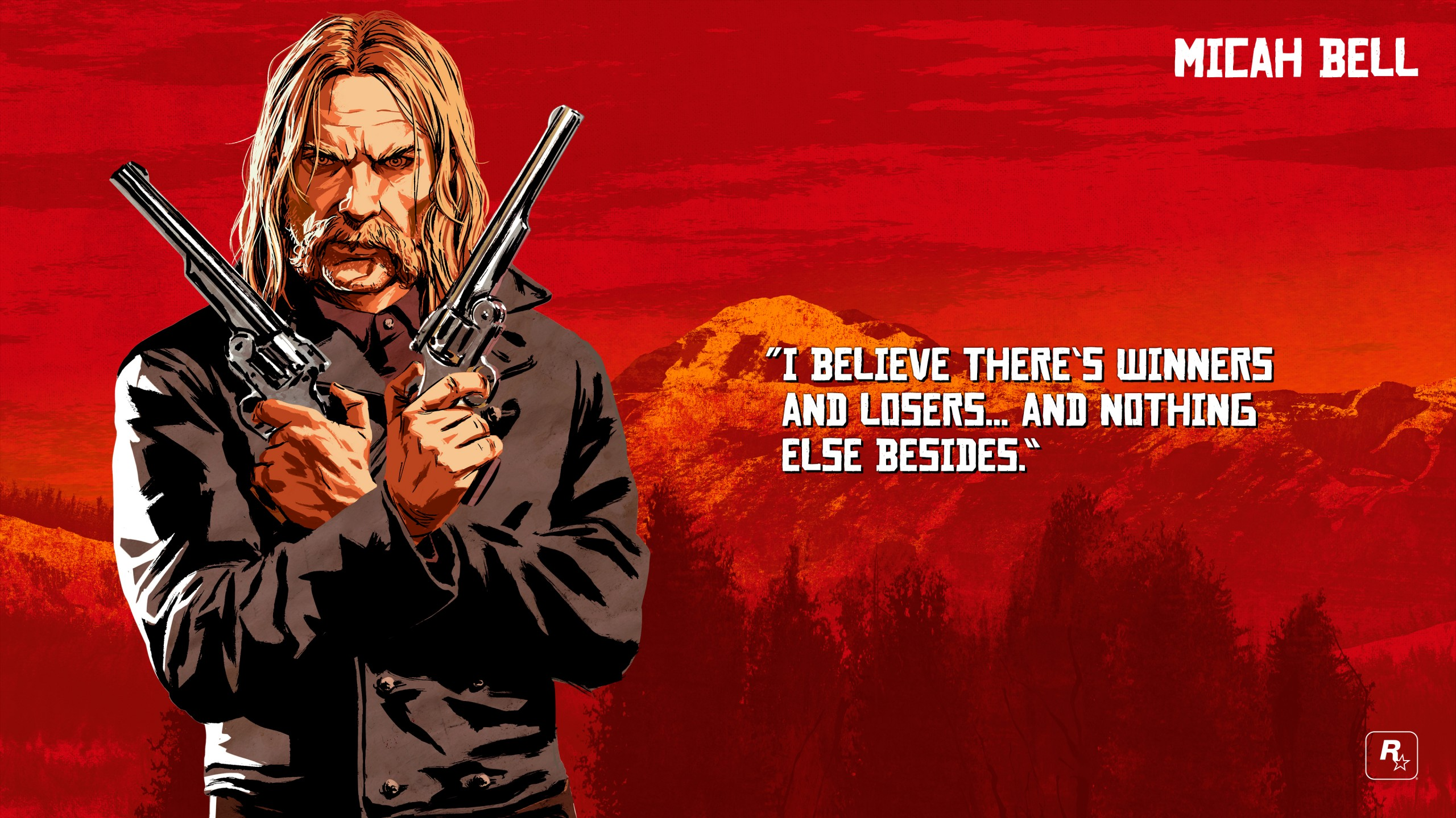 Red Dead Redemption 2 Micah Wallpaper 68172 2560x1440px