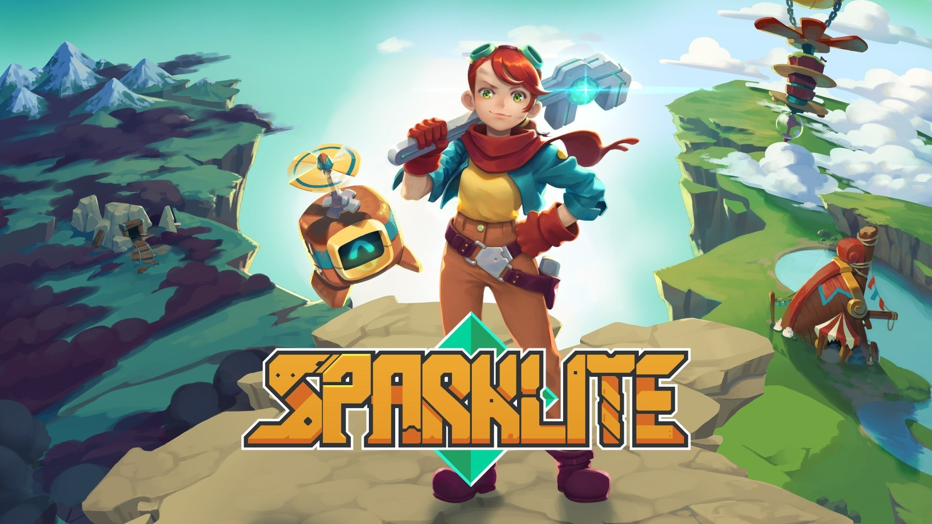 sparklite video game wallpaper 69455