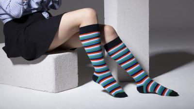 Colorful Knee High Socks Wallpaper 68980